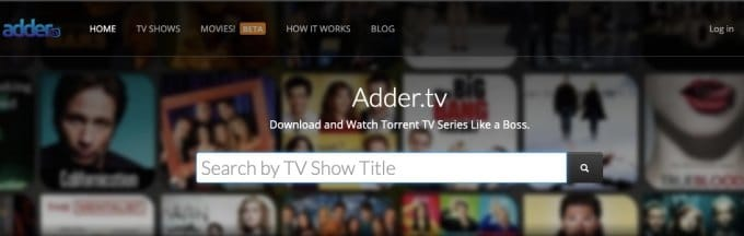 Adder TV is among the top TV sites like GRab The Beast