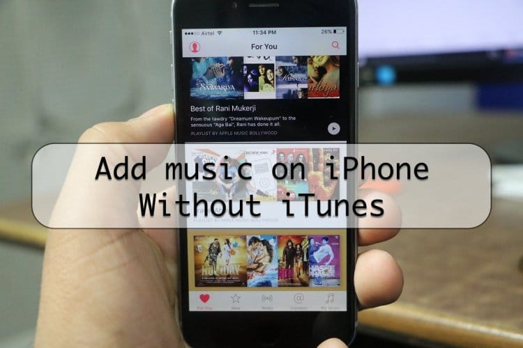 Learn how to put music on iPhone without using iTunes