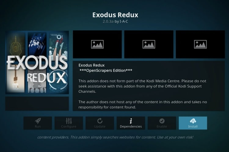 Install Kodi addons on Kodi media player for Windows, Mac, Linux, Android and iOS