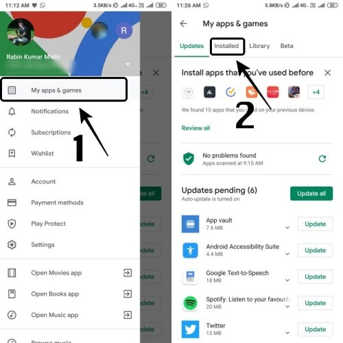 Uninstall multiple apps in a batch