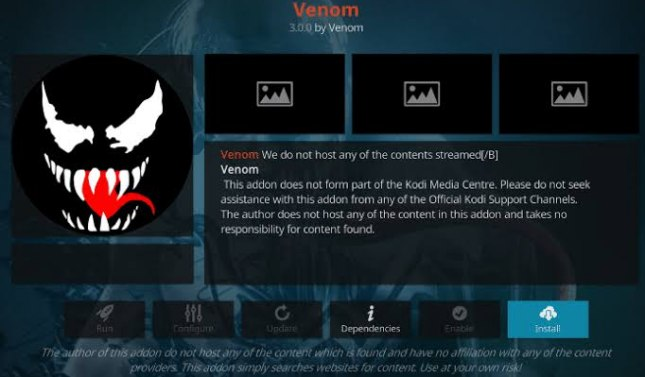 Venom Video app on Kodi lets you watch thousands of films for free