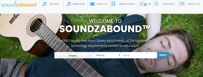 Soundzabound- free unblocked music at your fingertips