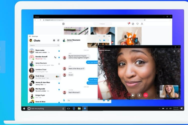 Facebook Messenger desktop app for Windows and Mac launched