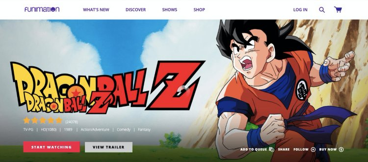 Funimation- watch dubbed anime free online