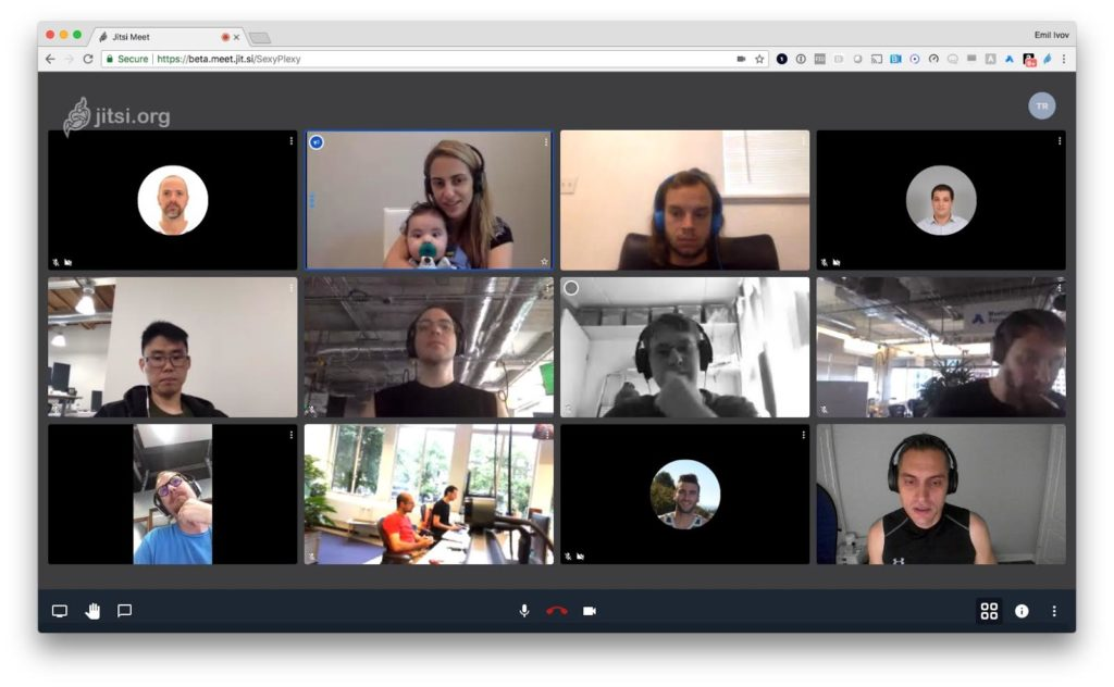 Jitsi Meet online free video conferencing like Zoom