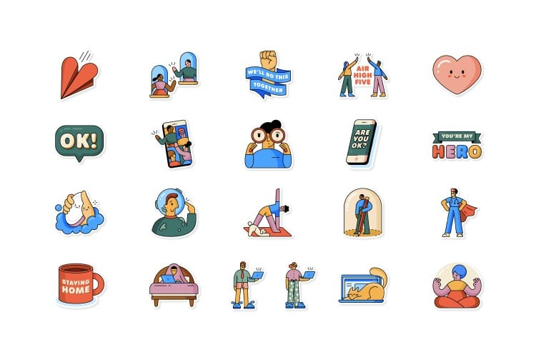 WhatsApp launches lockdown emoji sticers in collaboration with WHO