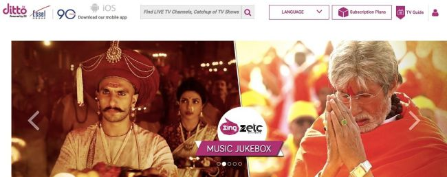 DittoTv - new hindi movies online watch free full hd